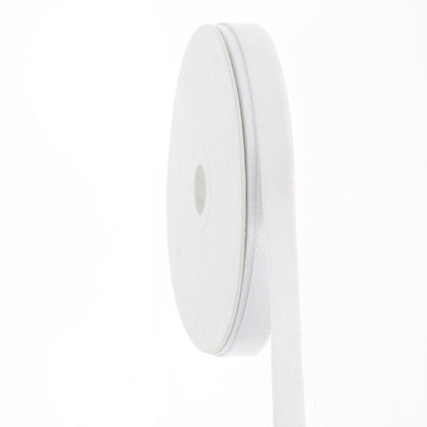 Nastro Bianco in doppio raso 15 mmx 50mt -BOMBONIERE LA VIOLETTA