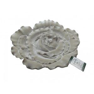 Piatto Scolpito a Forma di Rosa -TONO SU TONO