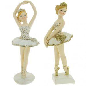 Bomboniere Ballerine Danza Classica in Piedi Dorate- BOMBONIERE LA VIOLETTA