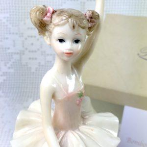 Ballerina In resina Porcellanata Mod.2 - ROYAL DIANA