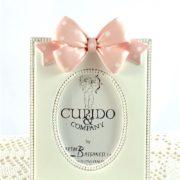 Portafoto Rettangolare Con Fiocco Rosa- CUPIDO & CO