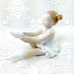 Set 4 Ballerine in Porcellana - LE PORCELLANE