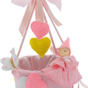 cestino-pconfetti-feltro-rosa-dim-14x25-cm