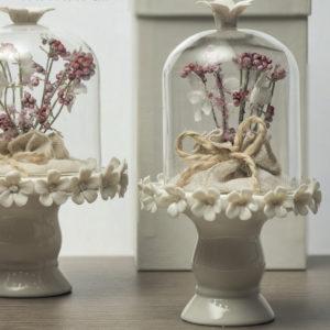 alzatina-vetro-base-porcellana-piccola-decoro-pepep-linea-pepe-rosa-ad-emozioni-www-bombonierelavioletta-it