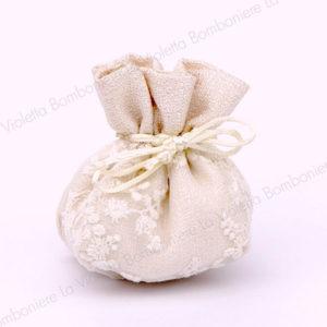 sacchetto classco jasmine cipria-bombonierelavioletta.it