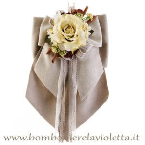 doppio-fiocco-rosa-cannella-linea-chocolate-fiori-di-lena-bombonierelavioletta.it