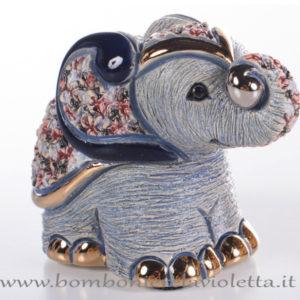 elefante-blu-D1994-de-rosa-rinconada-bombonierelavioletta.it