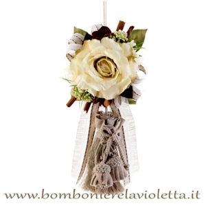 nappa-con-rosa-e-cannella-linea-choclate-Fiori-di-Lena-bombonierelavioletta.it