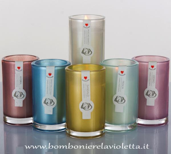 Exceptionnel Candela profumata in sei fragranze-Cuorprofumo - Bomboniere La  DW08