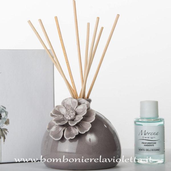 Bomboniere Design Matrimonio.Profumatore Anemone D8146 Morena Design Bomboniere La Violetta
