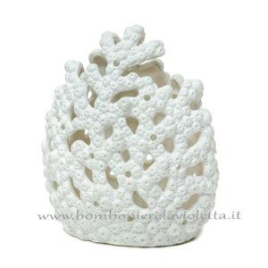bomboniera Corallo Bianco con Led