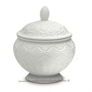 scatola porcellana intrecci-linea Royal decor